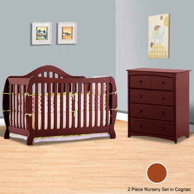 Stages 4 In 1 Convertible Crib Beatrice 4 Drawer Dresser