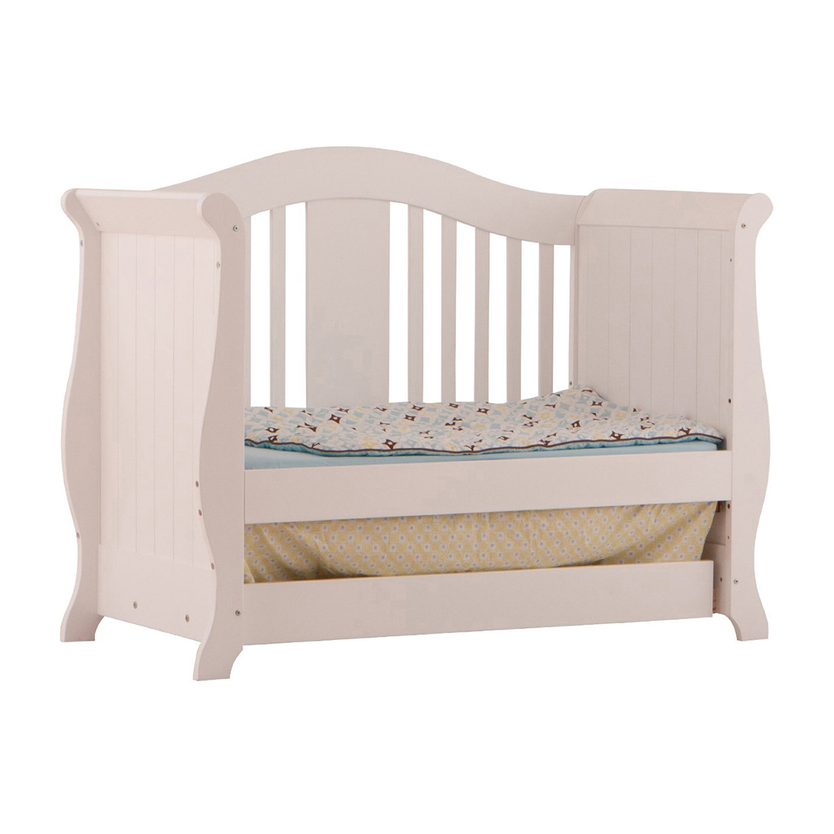 Storkcraft White Vittoria 3 In 1 Convertible Crib And Aspen Changing Table  With Drawer 2 Piece Nursery Set FREE SHIPPING