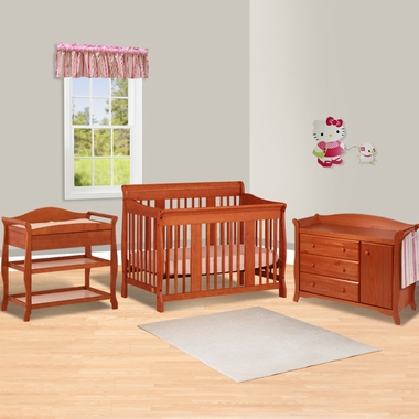 Storkcraft Aspen Changing Table ... Aspen Changing Table, Aspen Combo Dresser/Changer in Cognac - Click to