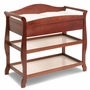 Storkcraft Aspen Changing Table in Cherry