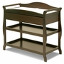 Storkcraft Aspen Changing Table in Espresso