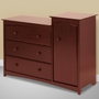 Storkcraft Beatrice Combo Tower / Dresser in Cherry