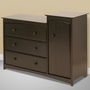 Storkcraft Beatrice Combo Tower / Dresser in Espresso