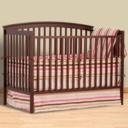 Storkcraft Bradford 4 in 1 Convertible Crib in Cherry