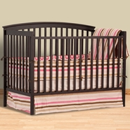 Storkcraft Bradford 4 in 1 Convertible Crib in Espresso