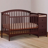 Storkcraft Bradford Crib n Changer Cherry