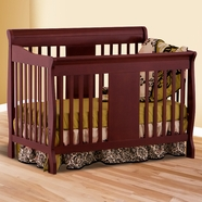 Storkcraft Calabria Convertible Crib in Cherry