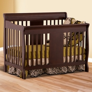 Storkcraft Calabria Convertible Crib in Espresso