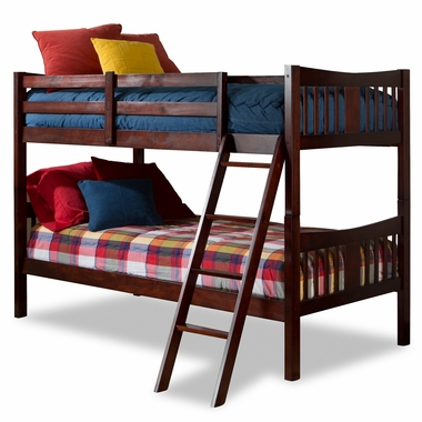 Storkcraft Caribou Bunk Bed in Cherry - Click to enlarge