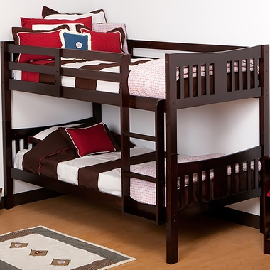 Storkcraft Caribou Bunk Bed In Espresso Free Shipping
