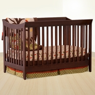 StorkCraft Giovanna Convertible Crib in Cherry