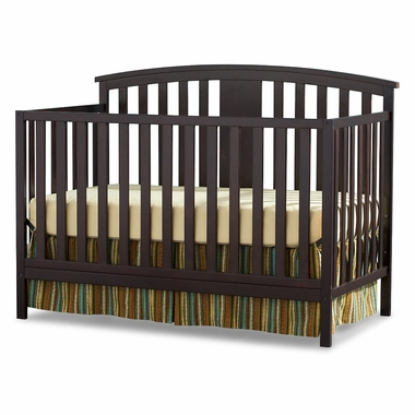 Storkcraft Greyson Convertible Crib in Espresso