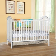 Storkcraft Hampton 2-in-1 Fixed Side Convertible Crib