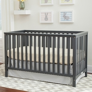Storkcraft Hillcrest Crib in Gray
