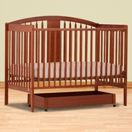 Storkcraft Hollie Convertible Crib in Cognac