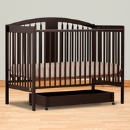 Storkcraft Hollie Convertible Crib in Espresso