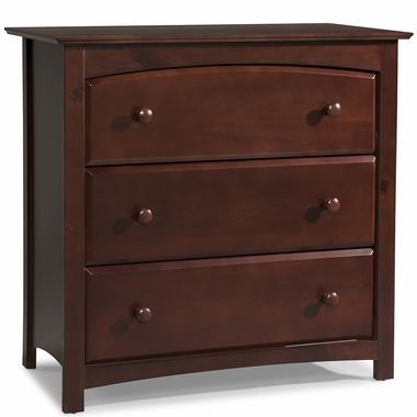 Storkcraft Kenton 3 Drawer Dresser in Cherry - Click to enlarge