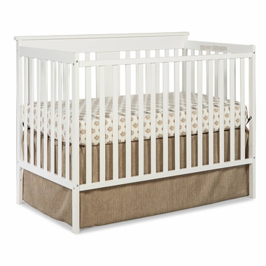 Storkcraft Mission Ridge 3-in-1 Convertible Crib in White - Click to enlarge