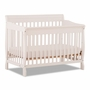 Storkcraft Modena 4 in 1 Fixed Side Convertible Crib in White