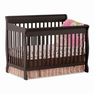 Storkcraft Modena Convertible Crib in Black
