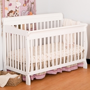 Storkcraft Modena Convertible Crib in White