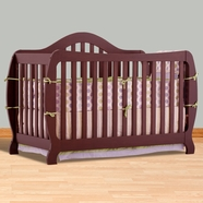 Storkcraft Monza I Convertible Crib in Cherry