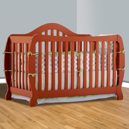 Storkcraft Monza I Convertible Crib in Cognac