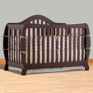 Storkcraft Monza I Convertible Crib in Espresso