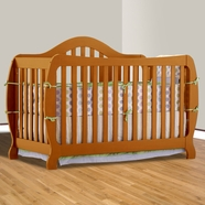 Storkcraft Monza I Convertible Crib in Oak