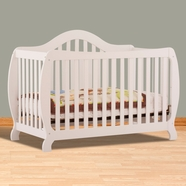 Storkcraft Monza I Convertible Crib in White
