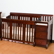 Storkcraft Portofino Convertible Crib in Cherry
