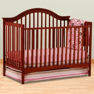 Storkcraft Ravena Fixed Side Convertible Crib in Cherry