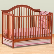 Storkcraft Ravena Fixed Side Convertible Crib in Cognac