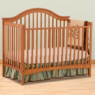 Storkcraft Ravena Fixed Side Convertible Crib in Oak