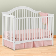 Storkcraft Ravena Fixed Side Convertible Crib in White