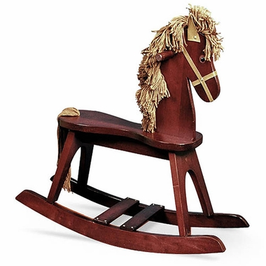 Storkcraft Rocking Horse in Cherry - Click to enlarge