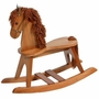 Storkcraft Rocking Horse in Cognac