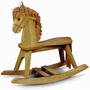 Storkcraft Rocking Horse in Oak