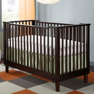 StorkCraft Santino Convertible Crib in Espresso