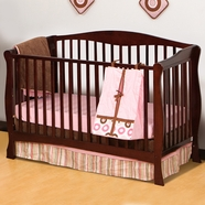 Storkcraft Savona Convertible Crib in Cherry