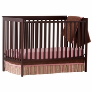 Storkcraft Sheffield Convertible Crib in Espresso