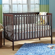 StorkCraft Sheffield II Convertible Crib in Espresso