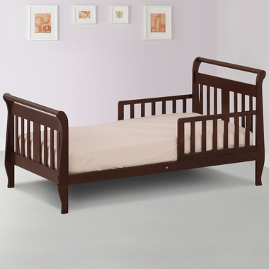 Storkcraft Soom Soom Toddler Bed in Espresso - Click to enlarge