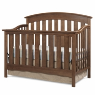 Storkcraft Sorrento Crib in Dove Brown