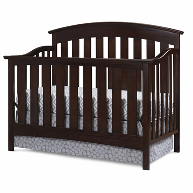 Storkcraft Sorrento Lifestyle Crib in Espresso - Click to enlarge