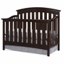 Storkcraft Sorrento Lifestyle Crib in Espresso