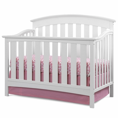 Storkcraft Sorrento Lifestyle Crib in White - Click to enlarge