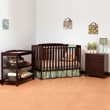 Storkcraft Turin Nursery In a Box in Cherry - Click to enlarge