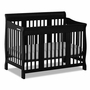 Storkcraft Tuscany 4 in 1 Convertible Crib in Black