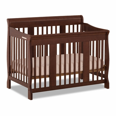 Storkcraft Tuscany 4 in 1 Convertible Crib in Cherry - Click to enlarge